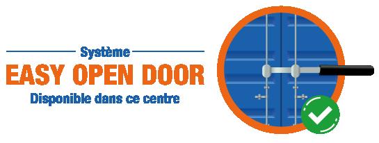 Système Easy Open Door